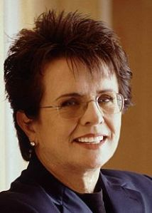 Billie Jean King(Courtesy of Wikipedia)