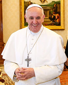 Pope Francis (Courtesy of Wikipedia)
