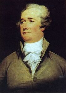 Alexander Hamilton (Courtesy of Wikipedia)