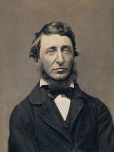 Henry David Thoreau Courtesy of Wikipedia