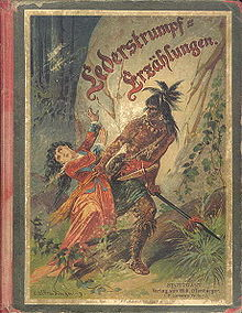 Book Cover for a Child's version of the Leatherstocking Tales (Courtesy of Wikipedia)