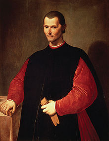 Machiavelli (Courtesy of Wikipedia)
