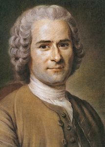 Jean-Jacques Rousseau  (Courtesy of Wikipedia)