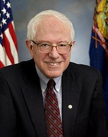 Sanders' Official Senate Portrait