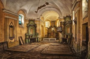 Abandoned Church Photo by Matthias Haker